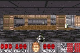 Test Doom Gameboy Advance - Screenshot 6