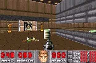 Test Doom Gameboy Advance - Screenshot 7