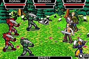 Test Eragon Gameboy Advance - Screenshot 1