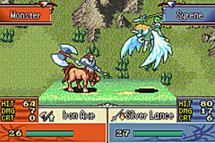 Fire Emblem : The Sacred Stones GBA - Screenshot 31