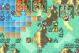 Fire Emblem : The Sacred Stones GBA - Screenshot 58