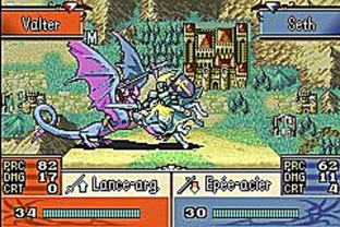 Test Fire Emblem : The Sacred Stones Gameboy Advance - Screenshot 81
