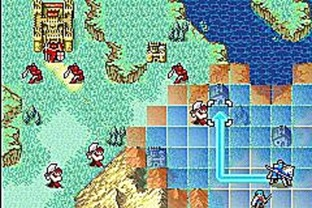 Test Fire Emblem : The Sacred Stones Gameboy Advance - Screenshot 83