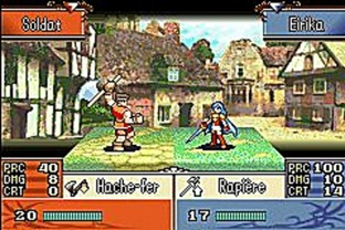 Fire Emblem : The Sacred Stones GBA - Screenshot 84