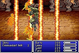 Test Final Fantasy V Advance Gameboy Advance - Screenshot 22
