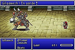 Test Final Fantasy V Advance Gameboy Advance - Screenshot 23