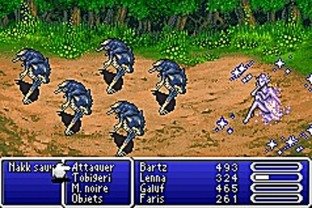 Test Final Fantasy V Advance Gameboy Advance - Screenshot 28