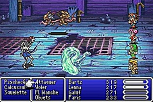 Test Final Fantasy V Advance Gameboy Advance - Screenshot 32