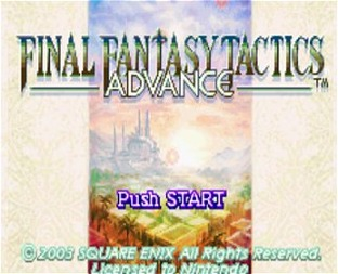 Aperçu Final Fantasy Tactics Advance Gameboy Advance - Screenshot 12
