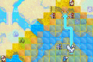 Test Fire Emblem : Fuuin no Tsurugi Gameboy Advance - Screenshot 59