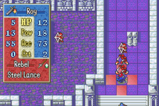Test Fire Emblem : Fuuin no Tsurugi Gameboy Advance - Screenshot 60