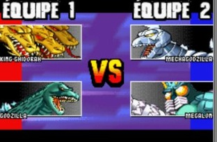 Test Godzilla : Domination Gameboy Advance - Screenshot 4