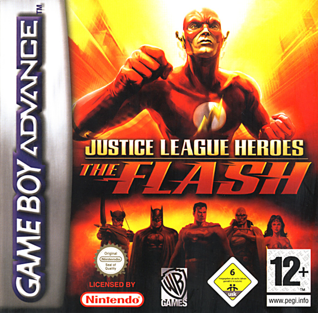 Heros De La Ligue Des Justiciers Flash Sur Gameboy Advance Jeuxvideo
