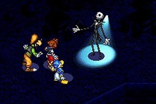 Test Kingdom Hearts : Chain Of Memories Gameboy Advance - Screenshot 113