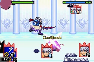 Test Kingdom Hearts : Chain Of Memories Gameboy Advance - Screenshot 114