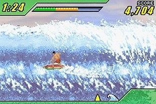Test Kelly Slater's Pro Surfer Gameboy Advance - Screenshot 2