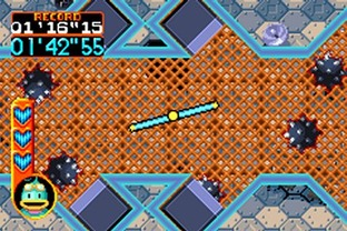Test Kuru Kuru Kururin Gameboy Advance - Screenshot 2