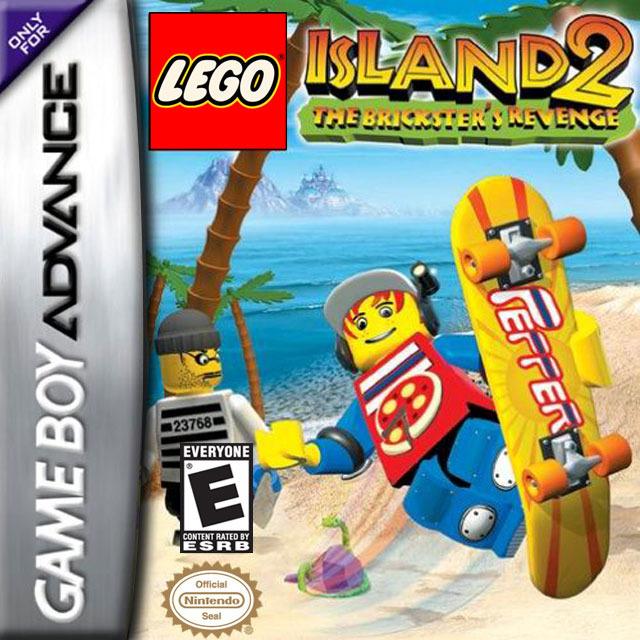 L 39 ile lego 2 la revanche de casbrick sur gameboy advance - Jeux de lego sur jeux info ...