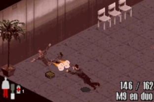Test Max Payne Gameboy Advance - Screenshot 18