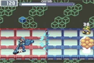 Test Megaman Battle Network 3 Gameboy Advance - Screenshot 1
