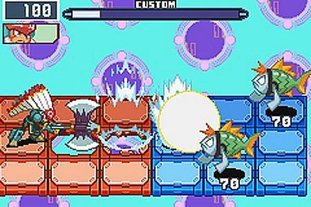 Mega Man Battle Network 6 : Cybeast Falzar