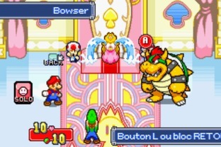 Test Mario & Luigi : Superstar Saga Gameboy Advance - Screenshot 17
