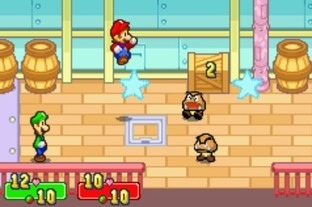 Test Mario & Luigi : Superstar Saga Gameboy Advance - Screenshot 18