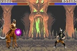 Test Mortal Kombat Gameboy Advance - Screenshot 5