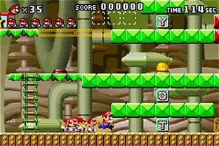 Test Mario Vs Donkey Kong Gameboy Advance - Screenshot 43