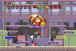 Test Mario Vs Donkey Kong Gameboy Advance - Screenshot 52