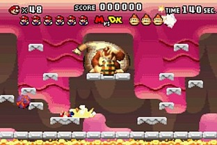 Test Mario Vs Donkey Kong Gameboy Advance - Screenshot 54