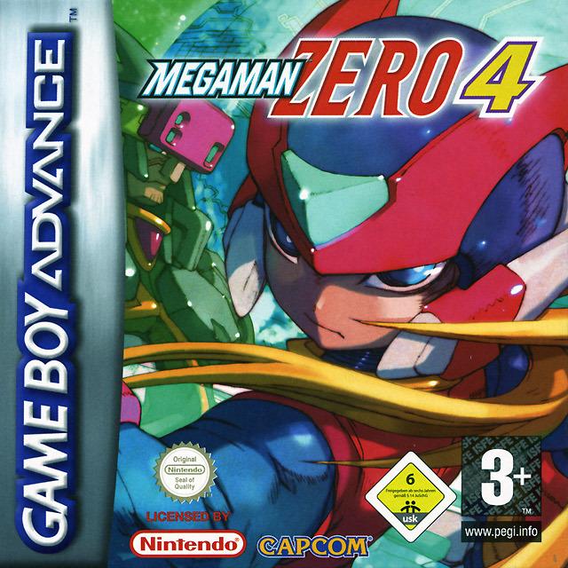 Mega Man Zero 4 sur Gameboy Advance - jeuxvideo com
