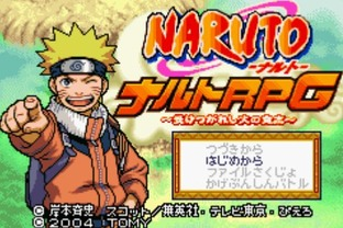 Naruto RPG : Uketsugareshi Hi no Ishi Gameboy Advance