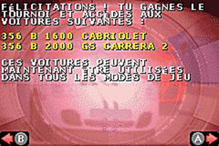 Test Need For Speed : Porsche Unleashed Gameboy Advance - Screenshot 2