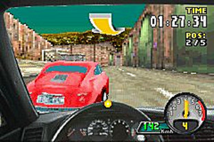 Test Need For Speed : Porsche Unleashed Gameboy Advance - Screenshot 3