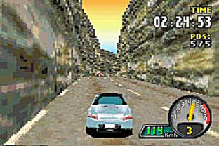 Test Need For Speed : Porsche Unleashed Gameboy Advance - Screenshot 5