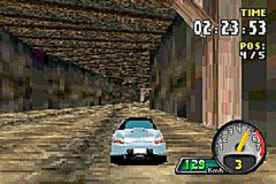 Test Need For Speed : Porsche Unleashed Gameboy Advance - Screenshot 7