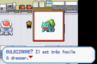 Pokémon Version Rouge Feu Gameboy Advance