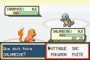 Test Pokemon Rouge Feu Gameboy Advance - Screenshot 14