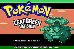 E3 : Pokémon Fire Red et Leaf Green