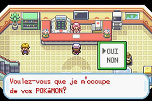 Test Pokemon Vert Feuille Gameboy Advance - Screenshot 10