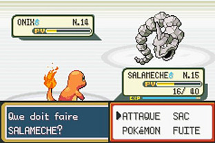 Test Pokemon Vert Feuille Gameboy Advance - Screenshot 11