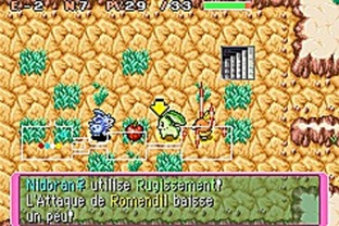 Test Pokemon Donjon Mystere : Equipe De Secours Rouge Gameboy Advance - Screenshot 32