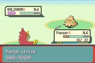 Test Pokemon Emeraude Gameboy Advance - Screenshot 136