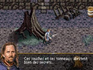 Test Le Seigneur Des Anneaux : Le Retour Du Roi Gameboy Advance - Screenshot 7