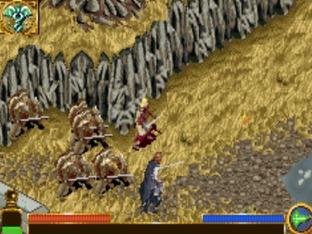 Test Le Seigneur Des Anneaux : Le Retour Du Roi Gameboy Advance - Screenshot 8