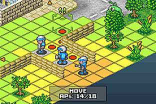 Test Rebelstar Tactical Command Gameboy Advance - Screenshot 21