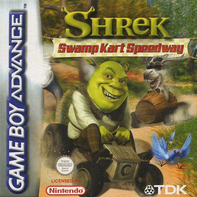 Images Shrek : Swamp Kart Speedway Gameboy Advance - 1