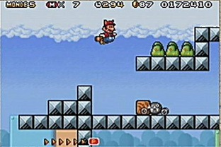 Test Super Mario Advance 4 : Super Mario Bros 3 Gameboy Advance - Screenshot 9
