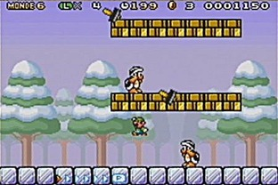 Test Super Mario Advance 4 : Super Mario Bros 3 Gameboy Advance - Screenshot 10